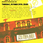 "VA 24.10.2013 in der Roten Insel ""Squatting in Novi Sad"""